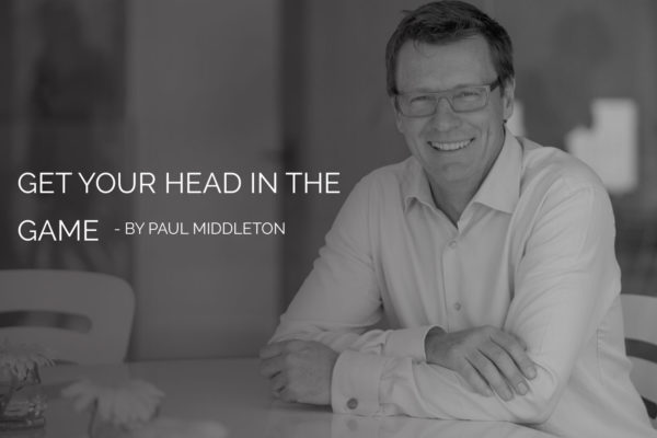 Get Your Head In The Game - Paul Middleton
