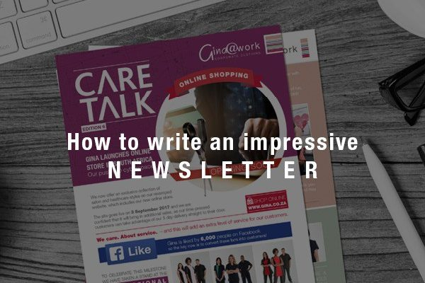 How To Write An Impressive Newsletter